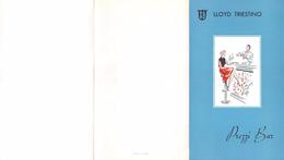 """05875 """"LLOYD TRIESTINO - PREZZI BAR"""" LISTINO PREZZI NAVE - Altre Collezioni"""