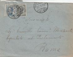 San Buono. 1921. Annullo Frazionario (19 - 83) Su Lettera. - Poststempel