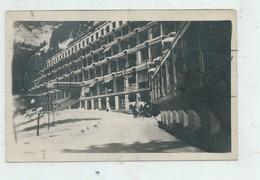 Passy (74) : L'entrée Du Sanatorium De Guébriant Sous La Neige Env 1945 PF. - Passy