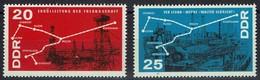 DDR 1966 - MiNr 1227-1228 - Petrochemie - Ungebraucht