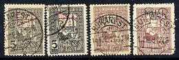 GERMAN MILITARY POST IN ROMANIA 1917 Postal Tax 5 & 10b., Used. - Occupation 1914-18