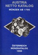 AUSTRIA CATALOGO MONETE DAL 1790 AL 1998. - Libri & Software