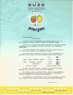 Lettre Dactylographiée De La Distillerie De La  SUZE  De Maisons Alfort - 1950 - ...