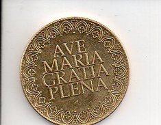 REF 1  : Arthus Bertrand Médaille Touristique Jeton Notre Dame De Paris 2010 Ave Maria Gratia Plena - Arthus Bertrand