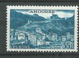 Andorre Yvert N° 150  A **      Bce4002