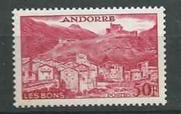 Andorre Yvert N° 152 **      Bce4004