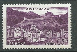 Andorre Yvert N° 152  A **      Bce4005