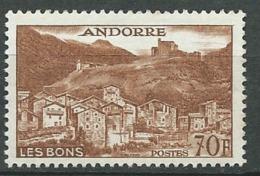 Andorre Yvert N° 152  B **      Bce4006