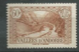 Andorre  Série Yvert N° 67 *     Bce4014