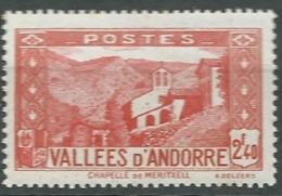 Andorre  Série Yvert N° 85 *     Bce4016
