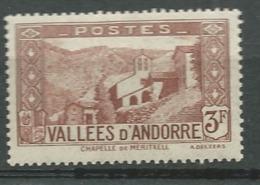 Andorre  Série Yvert N° 88 *     Bce4017