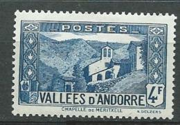 Andorre  Série Yvert N° 89 *     Bce4022