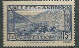 Andorre  Série Yvert N° 91 *     Bce4023