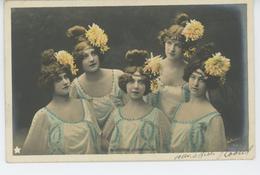 FEMMES - FRAU - LADY - SPECTACLE - ARTISTES - Portrait Des SOEURS LORRISON - Femmes