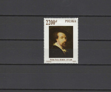 Poland 1992 Paintings Rubens Stamp MNH - Rubens
