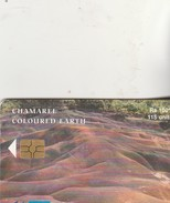 CHAMAREL  COLOURED EARTH - Mauritius