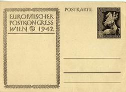 Drittes Reich 1942 Ganzsache Mi P 295, Postkongreß Wien [140517KIV] - Enteros Postales