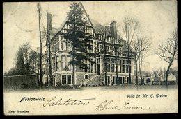 Cpa De Belgique Morlanwelz Villa De Mr. E. Greiger    NCL90 - Morlanwelz