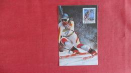 Maximum Card  Winter Sports   Ski   Ref 2577 - Winter Sports