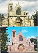 60. Gf. MONTATAIRE. L'église. 2 Cartes - Montataire