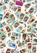 Amerika   Briefmarken Auf Papier   400 Gramm   Gemischt      Gestempelt   Kiloware - Timbres