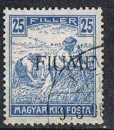 Fiume SG10 1918 Definitive 25f Fine Used [12/12579/7D] - 8. WW I Occupation