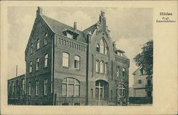 AK Hilden, Evgl. Gemeindehaus, Um 1918, Ecken Mit Druckstellen (11011) - Hilden