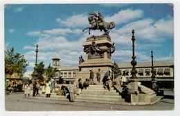 C.P. PICCOLA    GUATENALA CITY   MONUMENTO TO JUSTO RUFINO  BARRIOS      2 SCAN  (VIAGGIATA) - Guatemala