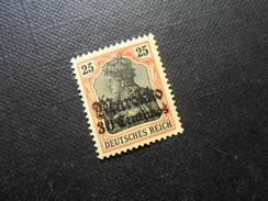 D.R.Mi 25 - 30Cauf25Pf* - Deutsche Auslandspostämter ( MAROKKO ) 1905 -  Mi € 8,00 - Offices: Morocco