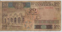 SOMALIA P. 33a 20 S 1983 F - Somalie