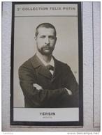 2° Collection Félix Potin -  Alexandre YERSIN  Médecin Né à Morge - Famous People