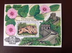 Kiribati 1995 Year Of The Pig Beijing Minisheet MNH