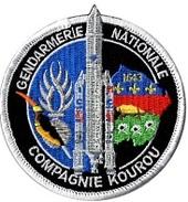 Ecusson Gendarmerie Compagnie De KOUROU - Patches
