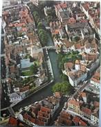 Belgique Vue Aérienne Luchtfoto Air View 26 Cm X 33 Cm - Bruges (Brugge) - Affiches