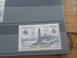 LOT 208660 TIMBRE DE FRANCE NEUF** N°786 LUXE GOMME D ORIGINE - Unused Stamps