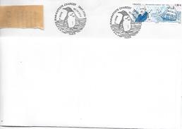 2017-Enveloppe 1° Jour CHARCOT - 22/04/2017  Paris Bel Affranchissement - Marcophilie (Lettres)