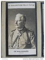 Général  Alfred Von WALDERSEE   - Campagne De Chine Révolte Des Boxers 1901 - Photo  Bromure -  Collection Felix Potin - War, Military