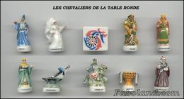 """Fèves Série Complète """"les Chevaliers De La Table Ronde"""" Arguydal 1999 - History"""