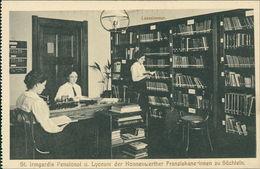 AK Viersen Süchteln, St. Irmgardis Pensionat U. Lyceum, Um 1910, Aus Heftchen, Linker Rand Perforiert (11093) - Viersen