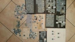 Lot De BLEUS / Napoleon - Ceres /  Losange GC, PC, Etoile De PARIS /  Environ 450 Timbres Dont Sur Fragment / Voir Scan - 1853-1860 Napoléon III