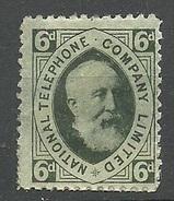 Great Britain National Telephone Company Ltd 6 D. * - Fiscaux