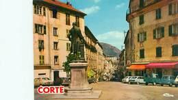 Cpsm -   Corse - Corté -  Cours Paoli                V714 - Corte