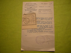 Guerre 39/45 état Français Document 143 ème Groupe Aveyron Travailleurs Espagnols 1943 - Documenti