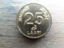 Maldives  25  Laari  1996  Km 71 - Maldives