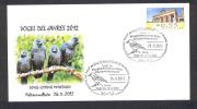 GERMANY ALLEMAGNE 2012. SPECIAL POSTMARK. BIRD OF THE YEAR. (Corvus Monedula). Kaltennordheim - Pájaros