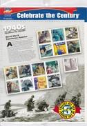 ETATS - UNIS  :  DOCUMENT  1999   SOUS  BLISTER  COMPORTANT  15  TIMBRES  CELEBRANT  1940  . - Briefe U. Dokumente