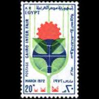 EGYPT 1972 - Scott# 912 Cairo Fair Set Of 1 MNH - Égypte