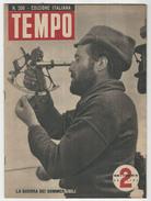 Rivista Del 1943 Splendide Fotografie A Colori E In B/N Del Lago D'Iseo   Tavernola Lovere Pisegno Etc. - Bücher, Zeitschriften, Comics