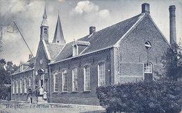 Burght - La Maison Communale (animation, 1908) - Zwijndrecht