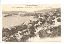06 - BEAULIEU -   Vue Générale Prise De La Petite Afrique - - Beaulieu-sur-Mer